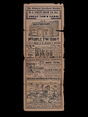 view <i>Uncle Tom's Cabin</i> Handbill digital asset: Uncle Tom's Cabin playbill