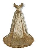 view The Wheat Dress, worn by Minnie Madden Fiske digital asset number 1