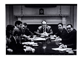 view President's Executive Staff digital asset: Photograph, President's Executive Staff