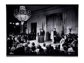 view President Nixon during his farewell address digital asset: Photograph, President Nixon during his farewell address