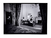view Pat Nixon and Julie Nixon Eisenhower digital asset: Photograph, Pat Nixon and Julie Nixon Eisenhower