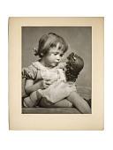 view Little Mother digital asset: Gelatin silver print, Little Mother
