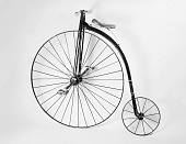 view Child's High Wheel Bicycle, 1885 digital asset number 1