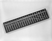 view Soroban, or Japanese Abacus digital asset: Soroban or Japanese Abacus, Front View