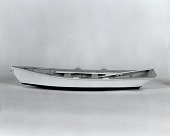 view Boat Model, Bushwhack Boat, mid-20th Century digital asset: Model Bushwhack Rowboat
