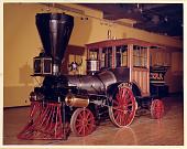 view Cumberland Valley Railroad Steam Locomotive, <I>Pioneer</I> digital asset: Pioneer