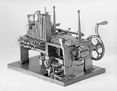 view Patent Model of a Type-setting and Type-distributing Machine digital asset number 1