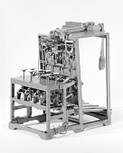 view Patent Model of a Type-distributing Machine digital asset number 1