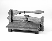 view Patent Model for a Traveler's Copying Press digital asset number 1