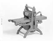 view Patent Model of a Plate-printing Machine digital asset number 1