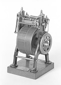 view Patent Model of a Press for Card and Ticket Printing digital asset number 1