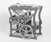 view Patent Model of an Intaglio Plate Printing Machine digital asset number 1