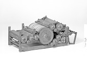 view Patent Model of a Rotary Printing Press and Folding Machine digital asset number 1