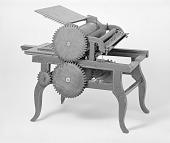 view Patent Model of a Flatbed Cylinder Printing Press digital asset number 1