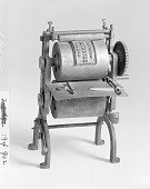 view Patent Model of a Rotary Printing Press for Printing or Branding Wooden Box Covers digital asset number 1