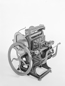view Patent Model of a Platen Printing Press digital asset number 1