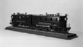 view Model of Pennsylvania Railroad's 1910 Electric Locomotive 3977 digital asset number 1