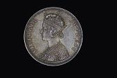 view 1 Rupee, Alwar, India, 1878 digital asset number 1
