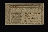 view 1 Shilling, New Jersey, 1776 digital asset number 1