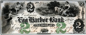 view 2 Dollars, Egg Harbor Bank, New Jersey, United States, 1861 digital asset number 1