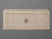 view JTC E-8450 6698 Punch Cards Marked with Bell System Logo digital asset: Punch card marked with Bell System Logo