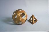 view Geometric Model, Tetrahedron digital asset: Geometric models: Tetrahedron, Snub Dodecahedron