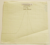 view Drift curve trace from maser radiometer, Cassiopia-A digital asset number 1