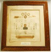 view Display of Edison experimental light bulb filament digital asset number 1
