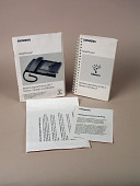 view User guide and pamphlets for the Siemens Newton NotePhone digital asset number 1