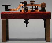 "view Tillitson ""Phillips"" style Morse telegraph key digital asset number 1"