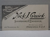 view Nick J Quirk, Illustrator & Engraver, 415 Dearborn St Chicago digital asset number 1