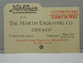 """view Nick J. Quirk Illustrator & Engraver with the Hawtin Engraving Co., Chicago"""" digital asset number 1"""