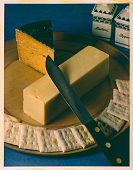 "view Photograph of ""McCall's Cheese"" digital asset: Carbro color print by Paul Outerbridge, Jr., 'McCall's Cheese'"
