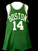 view Boston Celtics Jersey worn by Bob Cousy digital asset number 1
