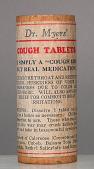 view Dr. Myers' Cough Tablets digital asset number 1