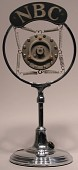 view Western Electric / NBC suspension carbon radio microphone digital asset number 1