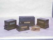 "view American Telegraph Typewriter Co. type 6-A ""Cardwell"" multiplex telegraph printer and associated equipment digital asset number 1"
