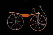 view Velocipede used by Buster Keaton in the film <i>Our Hospitality</i> digital asset: velocipede
