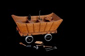 view Model of Railroad Sail Car digital asset: Model, railroad sail car
