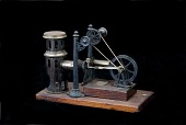 view Ernst Plank Hot-Air Engine Toy digital asset: German Toy Hot-Air Engine