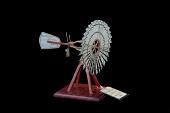 view Bevil Wind Mill Patent Model digital asset: Bevil Windmill Model, patented by H. H. Bevil on April 6, 1880