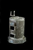 view McAvoy's Patent Model of a Heat Regulator for Hot Water Apparatus - ca 1869 digital asset: Hot Water Heat Regulator