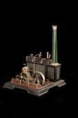 view Märklin Toy Steam Engine digital asset: Marklin Toy Steam Engine, Boiler and Generator