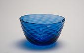 view bowl digital asset: Bowl, blue glass