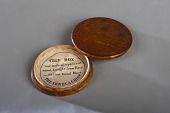 view Medal box made from wood carried on the Seneca Chief at the opening of the Erie Canal, New York, New York digital asset number 1