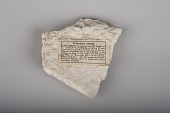 view Joan of Arc dungeon stone, Rouen, France, ca. 1200 digital asset number 1