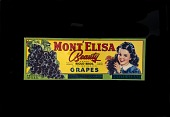 view Grape Crate Label, Mont'Elisa digital asset number 1