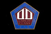 view Detroit-Dearborn Motor Car Company Radiator Emblem digital asset: Detroit-Dearborn Motor Car Company Radiator Emblem