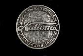 view National Motor Car & Vehicle Corporation Radiator Emblem digital asset: National Motor Car & Vehicle Corporation Radiator Emblem