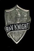 view R&V Knight Radiator Emblem digital asset: R & V Knight Radiator Emblem